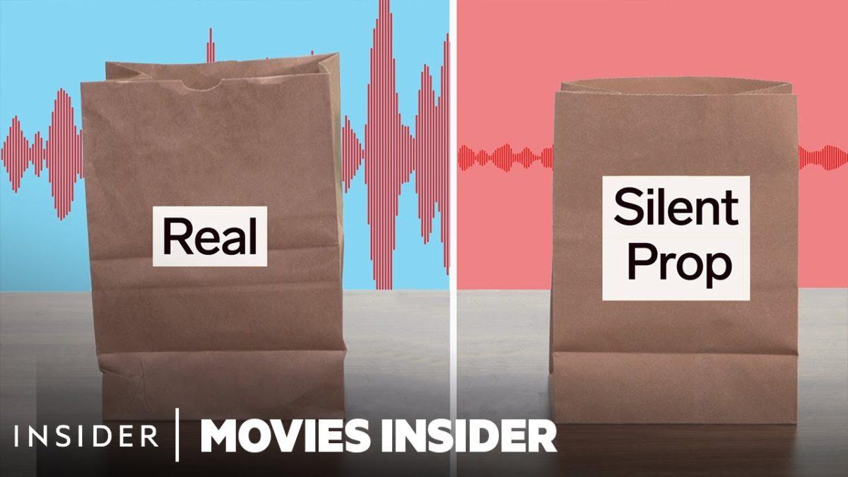 Aber wie werden eigentlich geräuschlose Requisiten für Film und Fernsehen gemacht?