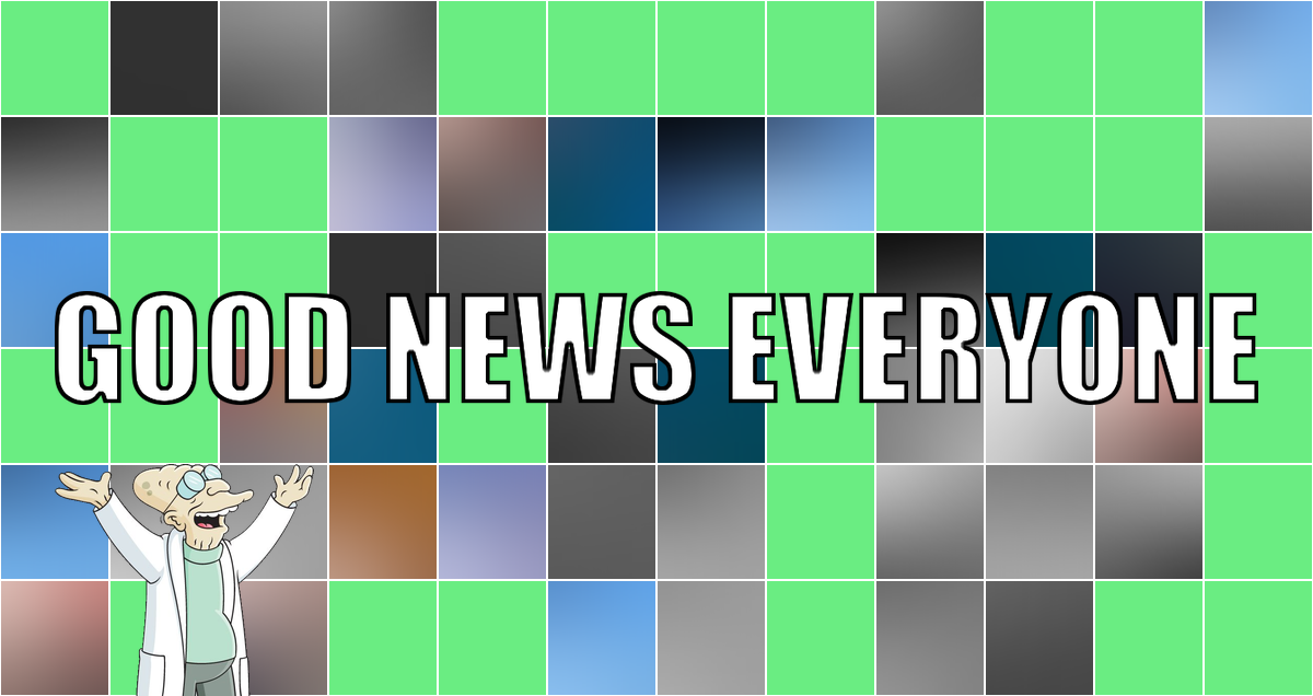 Eure familienverkaterten guten Nachrichten der Woche: Good News Everyone CXXXIII