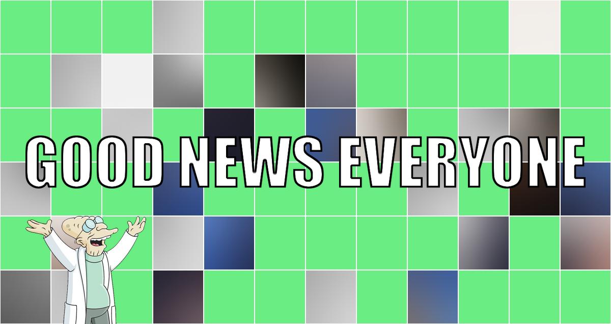 """Das G in """"Good News Everyone CXXXVI"""" steht heute für Gundam!"""