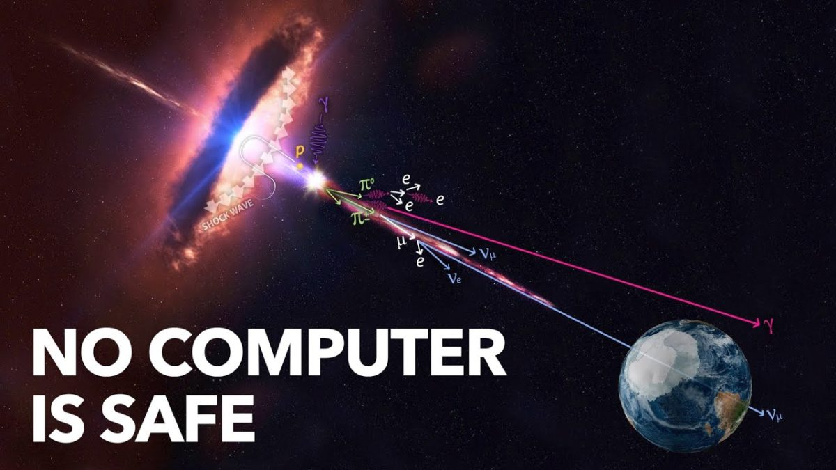 """The Universe is Hostile to Computers"" – Wie kosmische Strahlung Computer beeinflusst"